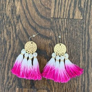 Lilly Pulitzer ombré dream catcher earrings